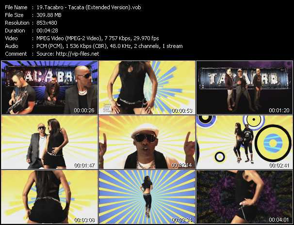 Tacabro video screenshot