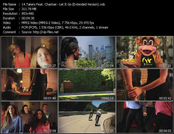 Takers Feat. Chantae video screenshot
