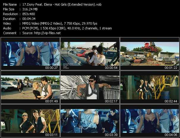 Dony Feat. Elena video screenshot