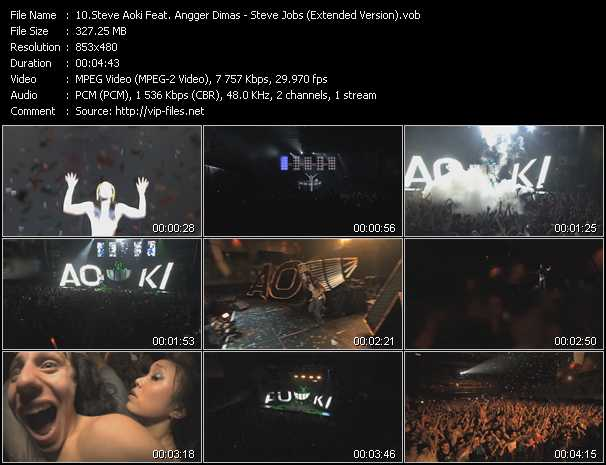 Steve Aoki Feat. Angger Dimas video screenshot