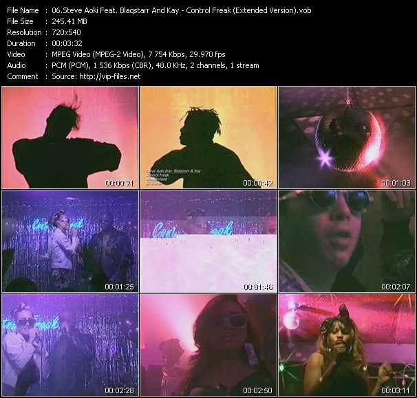 Steve Aoki Feat. Blaqstarr And Kay video screenshot