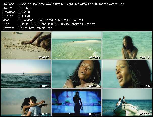 Adrian Sina Feat. Beverlei Brown video screenshot