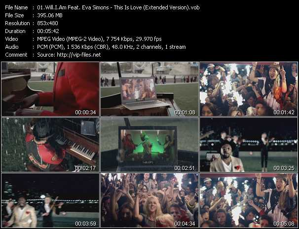 video This Is Love (Extended Version) screen