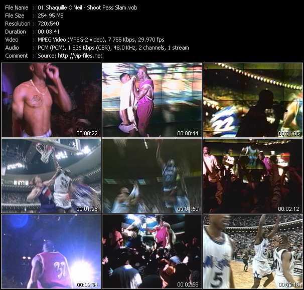 Shaquille O'Neal video screenshot