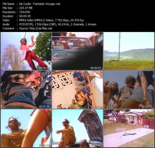 Coolio video screenshot