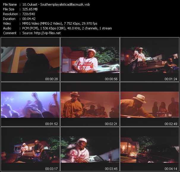 Oukast video screenshot