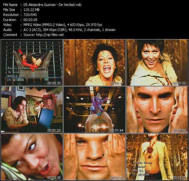 Alejandra Guzman video screenshot