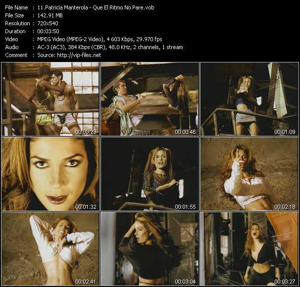 Patricia Manterola video screenshot