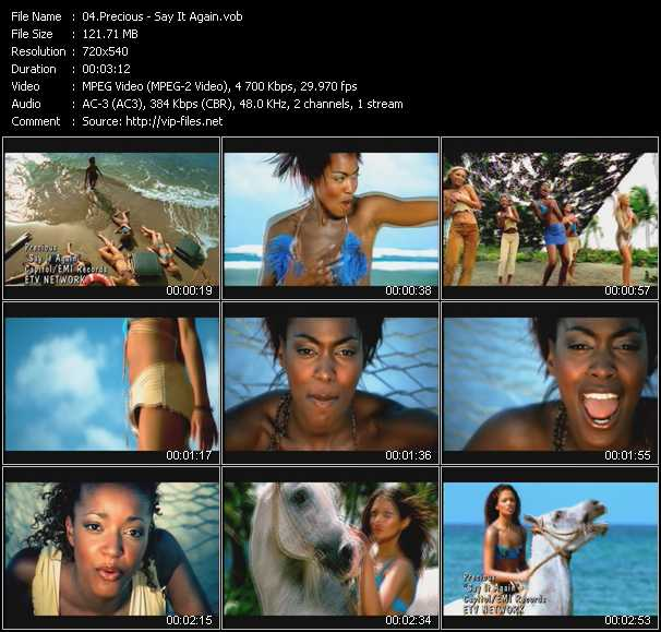 Precious UK video screenshot