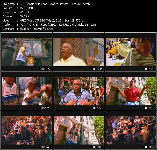 Dj Magic Mike Feat. Howard Hewett video screenshot