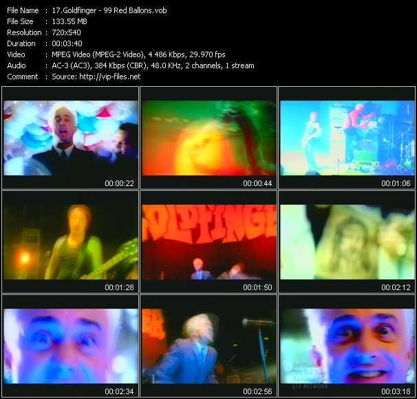 Goldfinger video screenshot