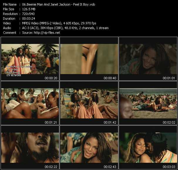 Beenie Man Feat. Janet Jackson video screenshot