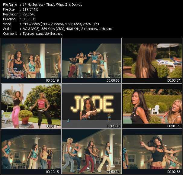 No Secrets video screenshot