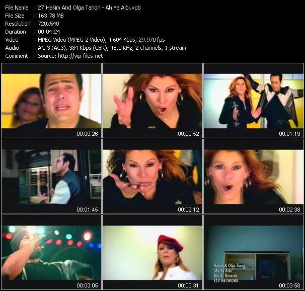 Hakim And Olga Tanon video screenshot