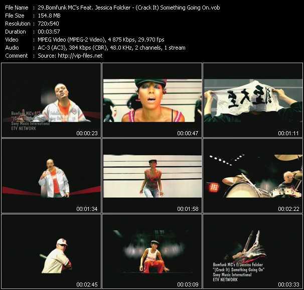 Bomfunk MC's Feat. Jessica Folker video screenshot