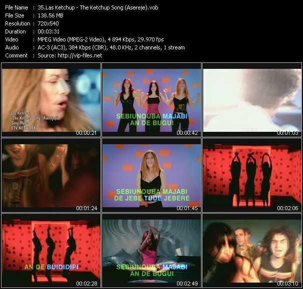 Las Ketchup video screenshot