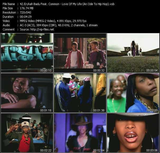 Erykah Badu Feat. Common video screenshot