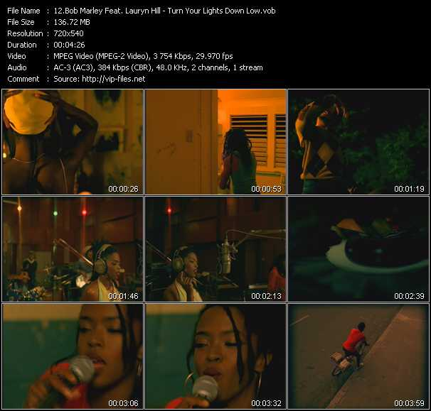 Bob Marley Feat. Lauryn Hill video screenshot