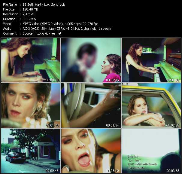 Beth Hart video screenshot