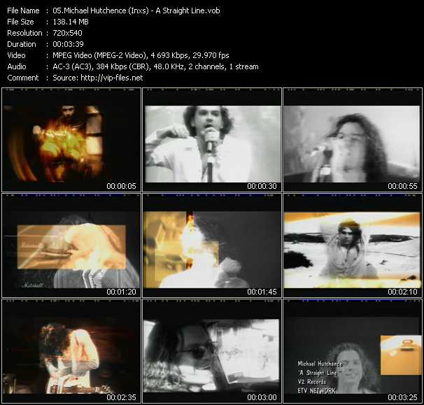 Michael Hutchence (Inxs) video screenshot