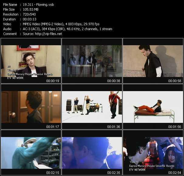 311 video screenshot