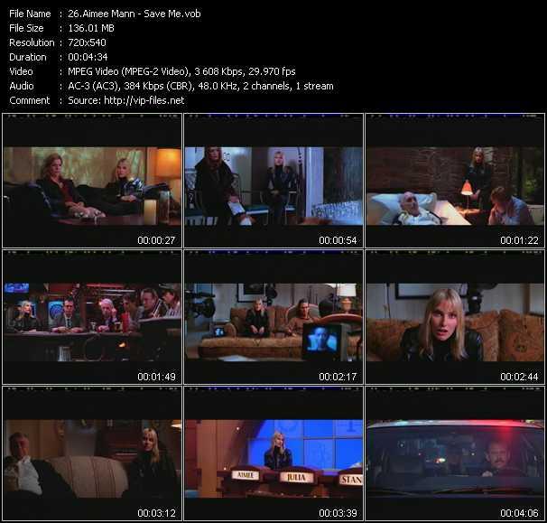 Aimee Mann video screenshot