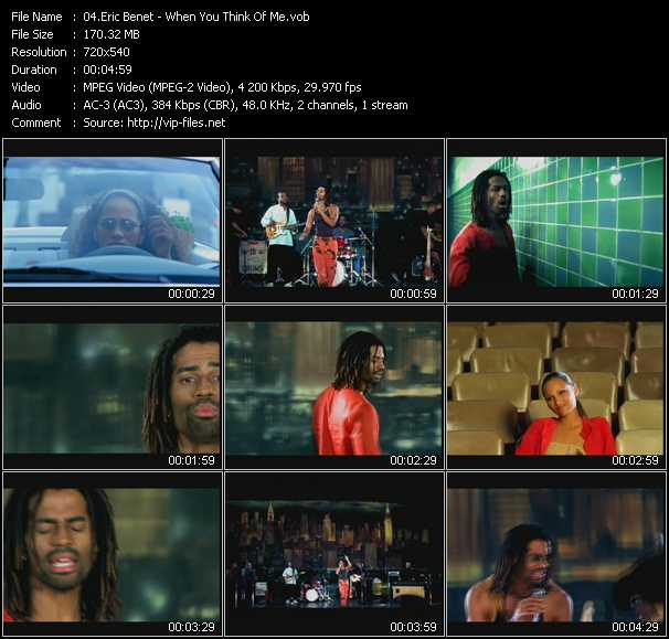 Eric Benet video screenshot
