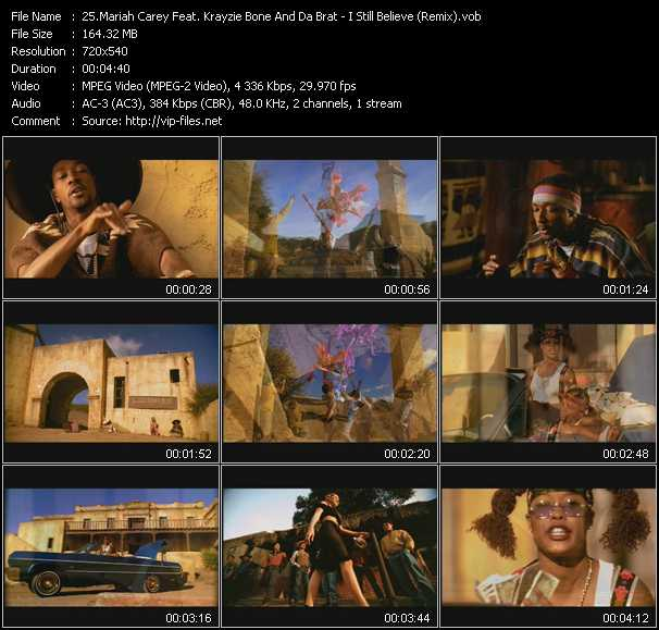 Mariah Carey Feat. Krayzie Bone And Da Brat video screenshot