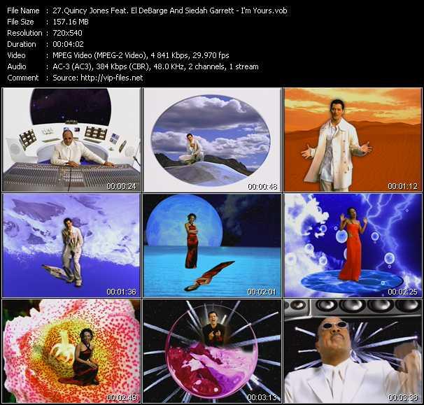 Quincy Jones Feat. El DeBarge And Siedah Garrett video screenshot