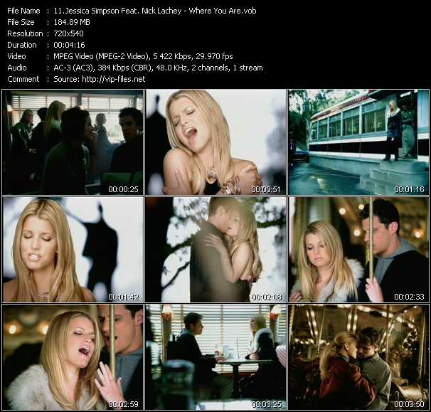 Jessica Simpson Feat. Nick Lachey video screenshot