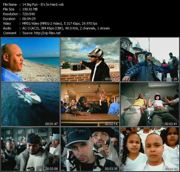 Big Pun (Big Punisher) video screenshot