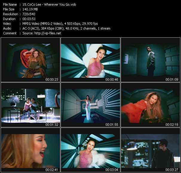 CoCo Lee video screenshot