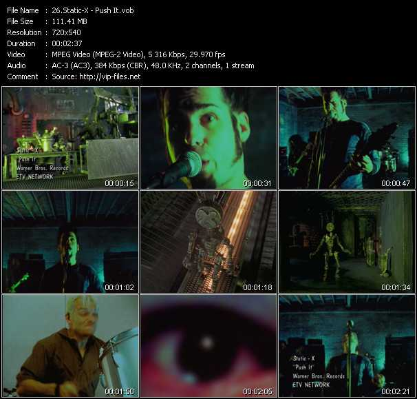 Static-X video screenshot