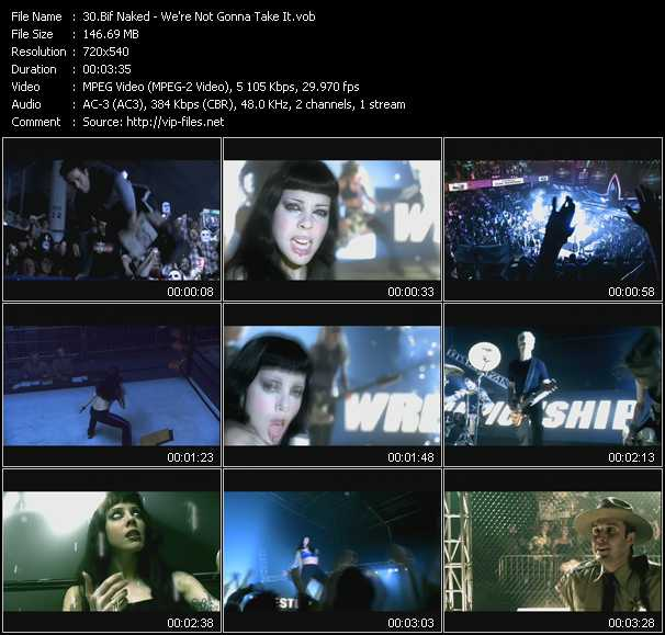 Bif Naked video screenshot