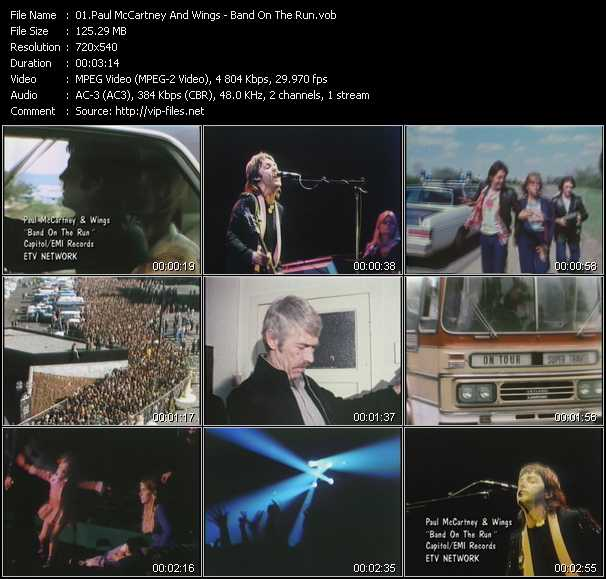 Paul McCartney And Wings video screenshot