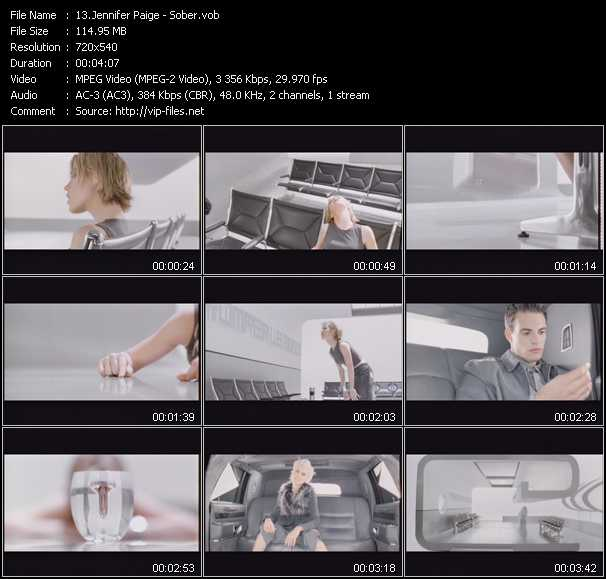 Jennifer Paige video screenshot