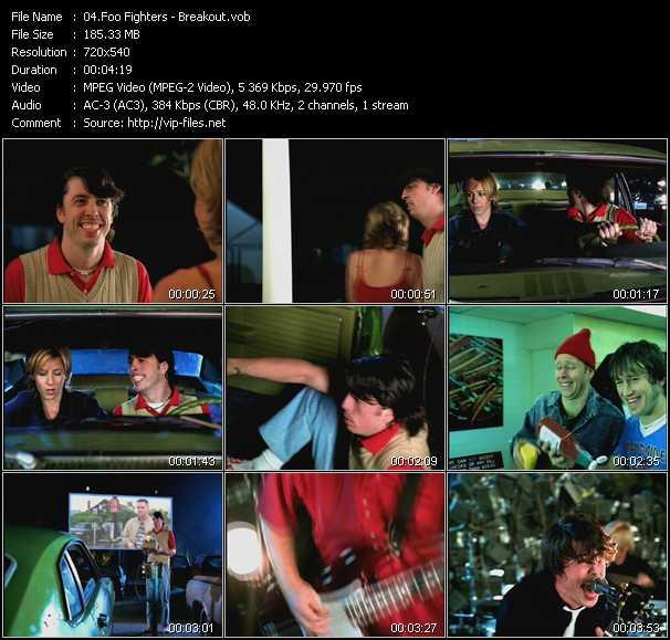 video Breakout screen