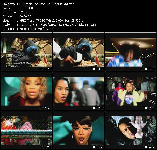Goodie Mob Feat. Tlc video screenshot