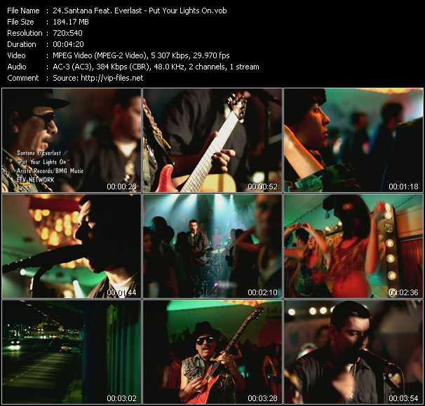 Santana Feat. Everlast video screenshot