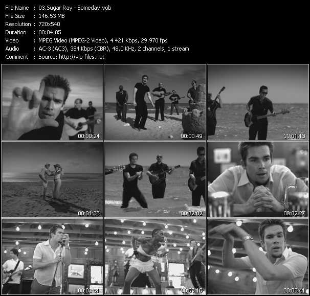 Sugar Ray video screenshot