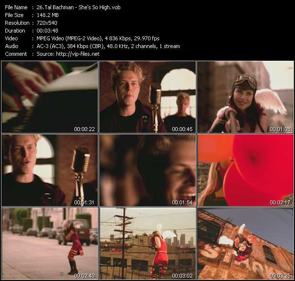 Tal Bachman video screenshot