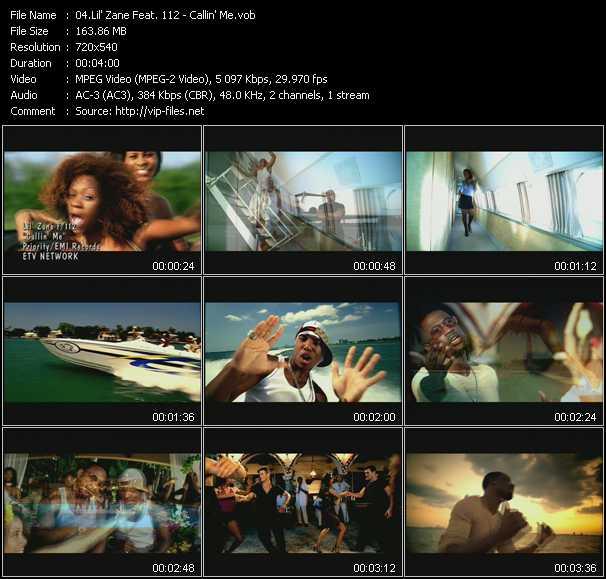 Lil' Zane Feat. 112 video screenshot
