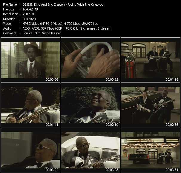 B.B. King And Eric Clapton video screenshot