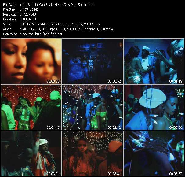 Beenie Man Feat. Mya video screenshot