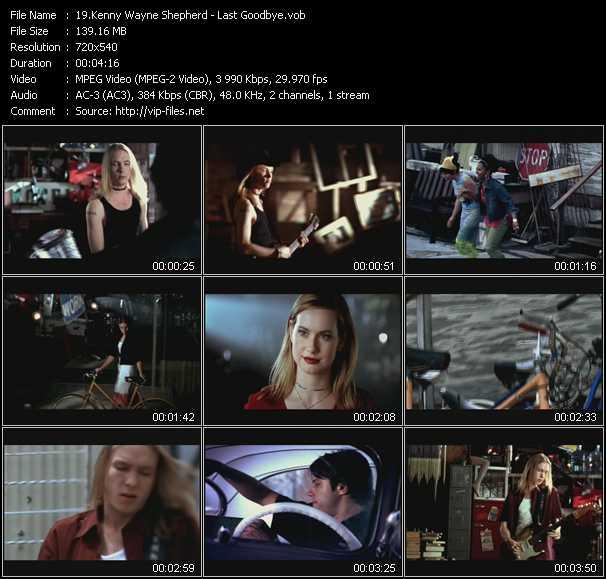 Kenny Wayne Shepherd video screenshot
