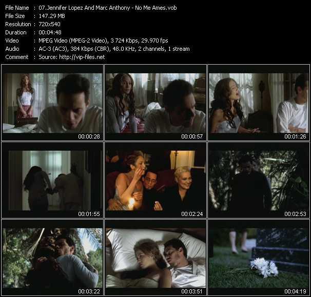 Jennifer Lopez And Marc Anthony video screenshot