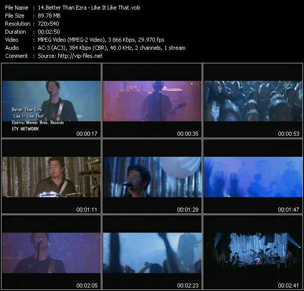 Better Than Ezra video screenshot