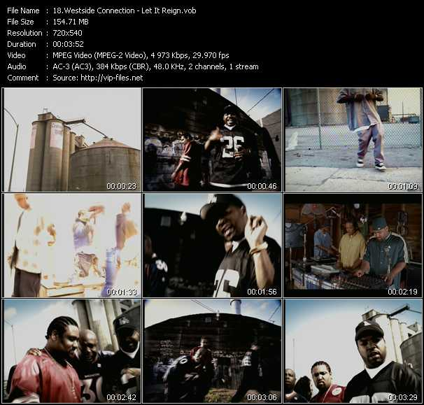 Westside Connection video screenshot