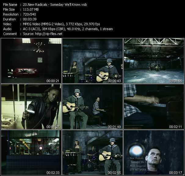 New Radicals video screenshot