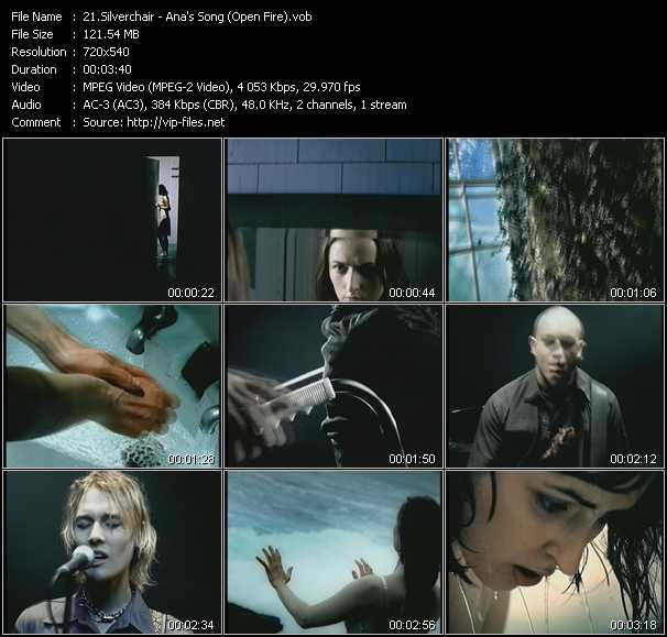 Silverchair video screenshot
